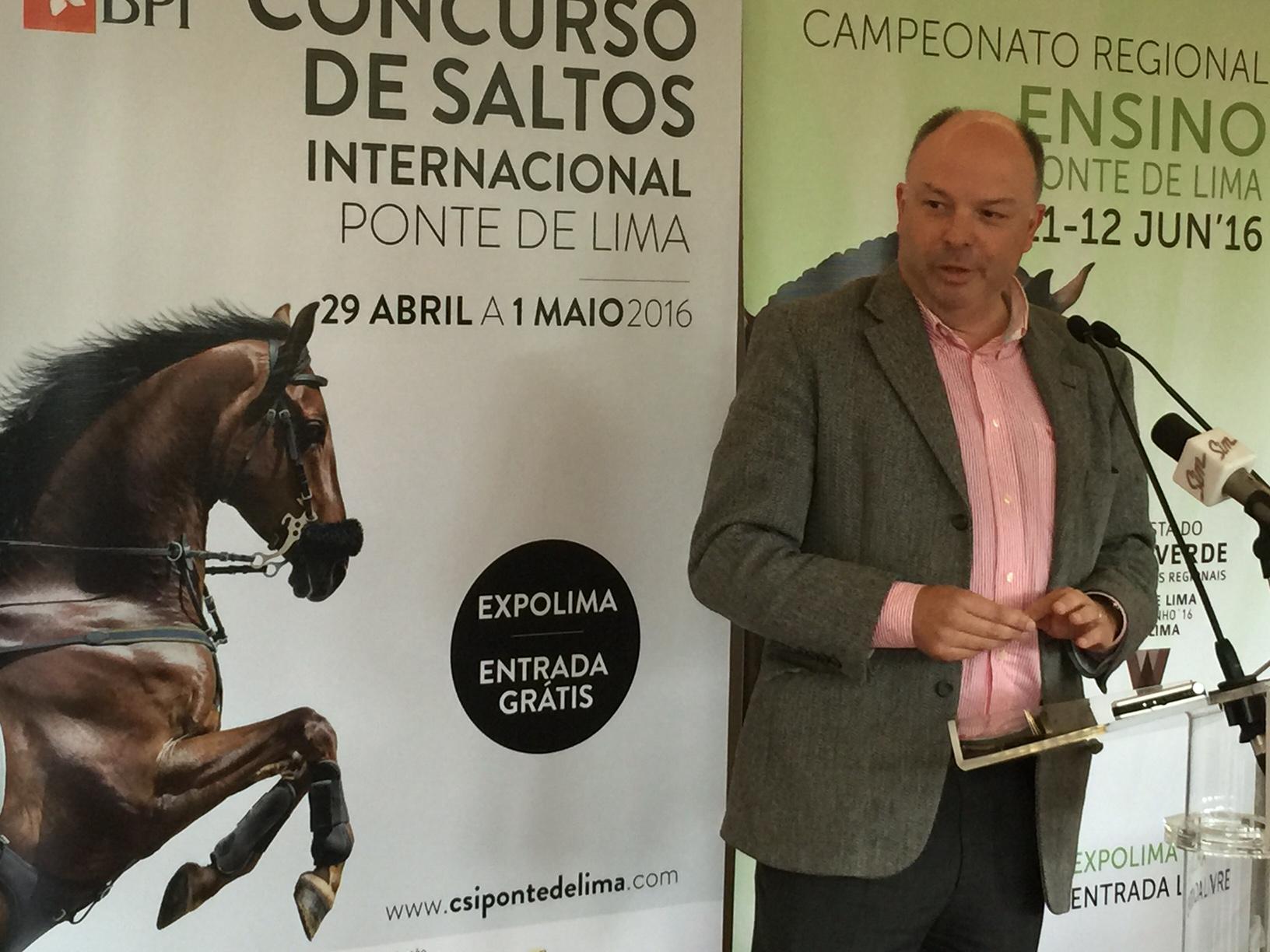 Ponte de Lima quer ter hipódromo com apostas 'online'para se reforçar como destino equestre internacional