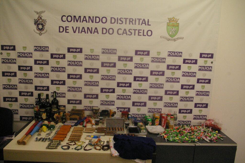 PSP de Viana recupera artigos roubados e identifica três jovens
