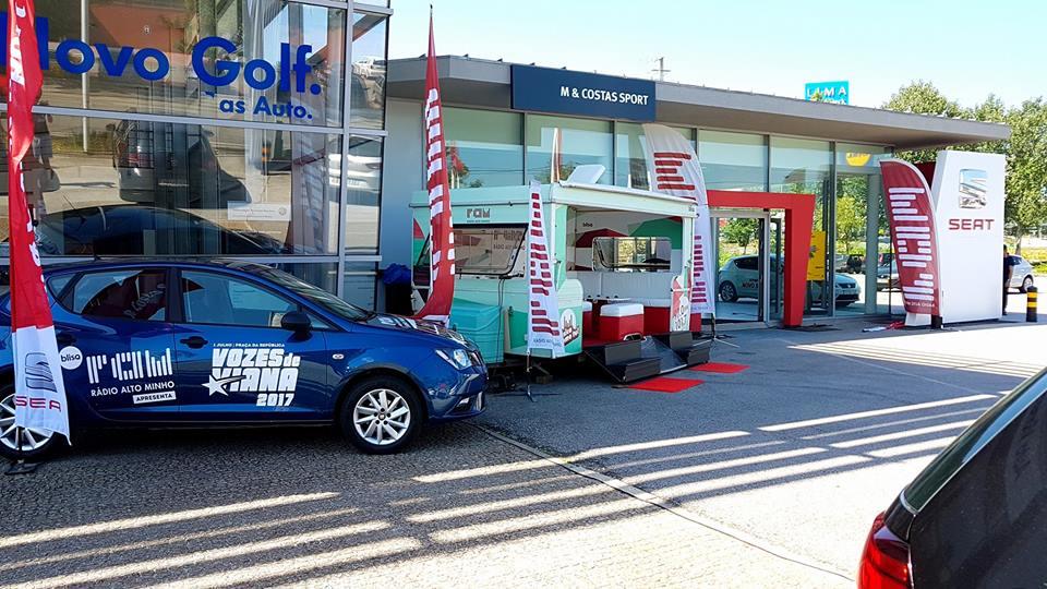 "RAM: Portas Abertas MCostas Sport ""SEAT IBIZA"""