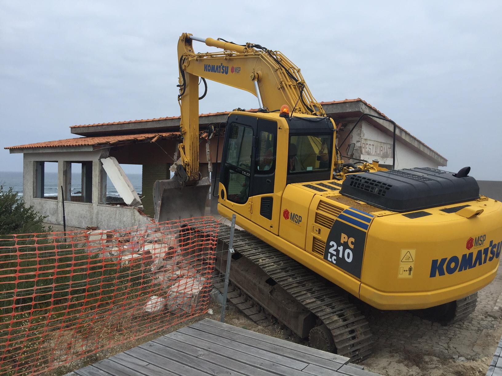 Demolição de restaurante em Afife entre as 9 obras lançadas hoje pela Polis Litoral Norte