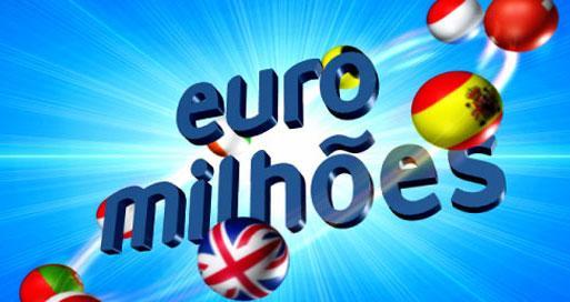 Primeiro prémio do Euromilhões sai em Portugal
