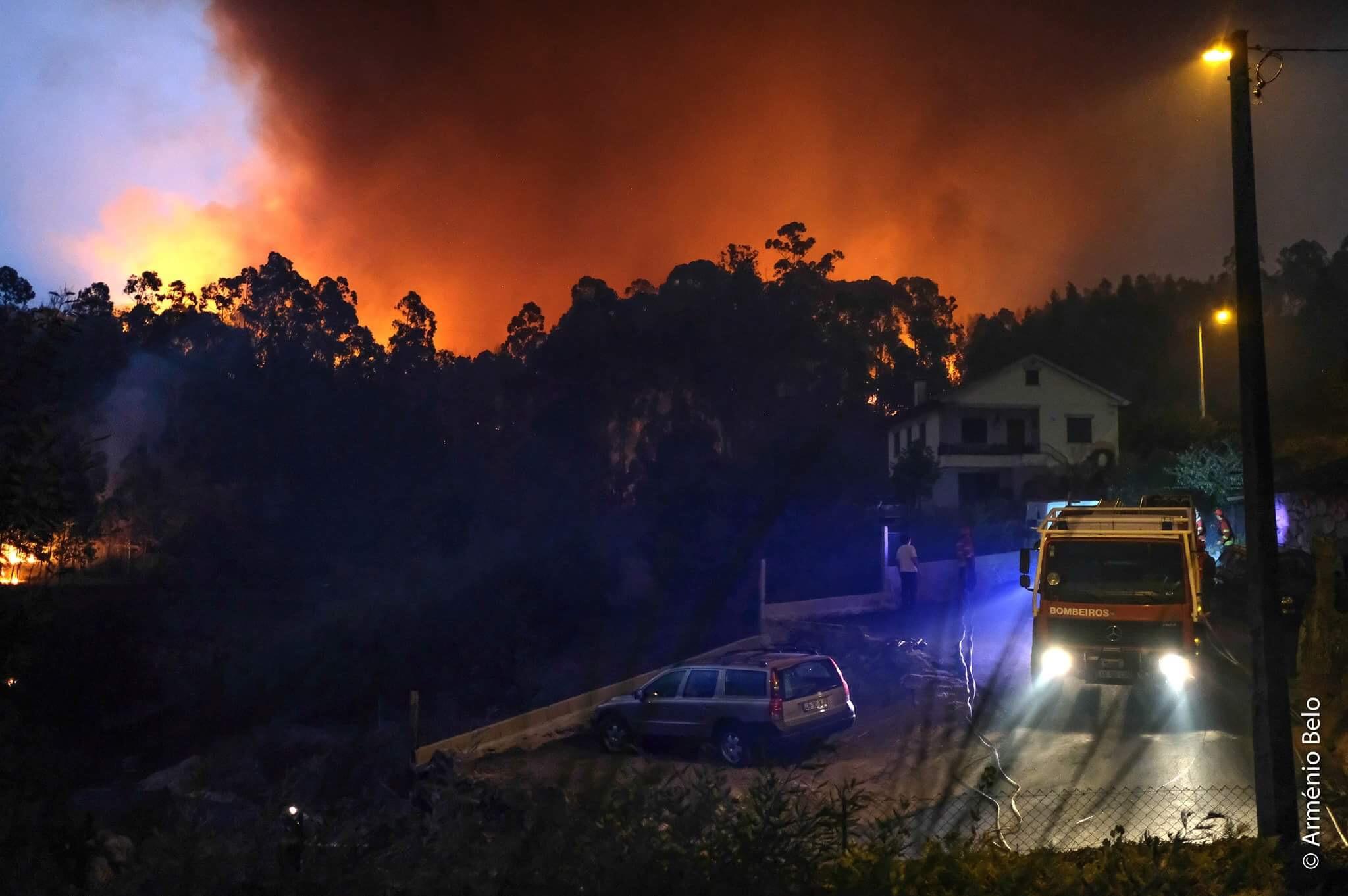 Incêndio em Monção consumiu mais de seis mil hectares de floresta