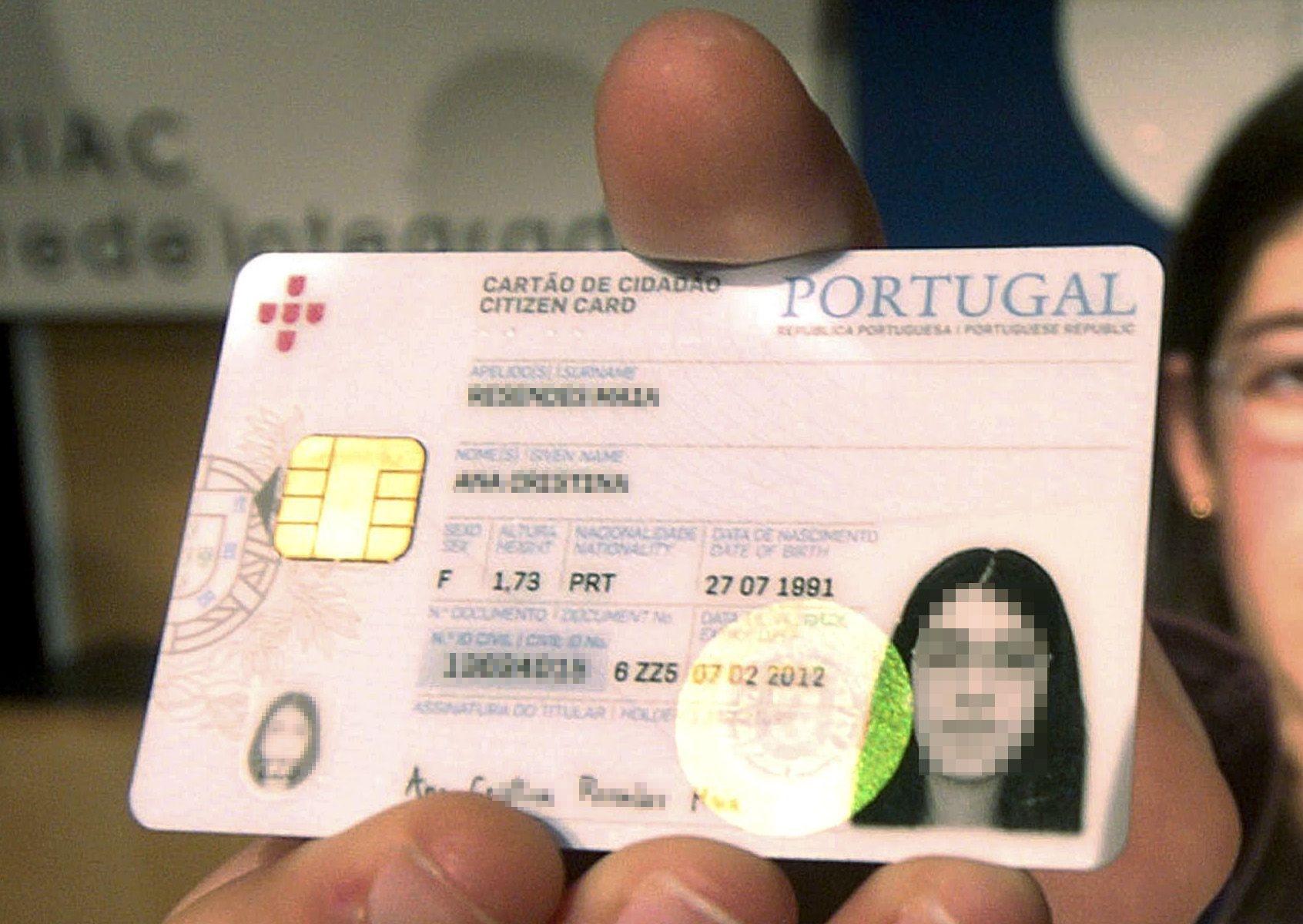 Cartão de cidadão a partir de hoje com prazo de validade geral de dez anos