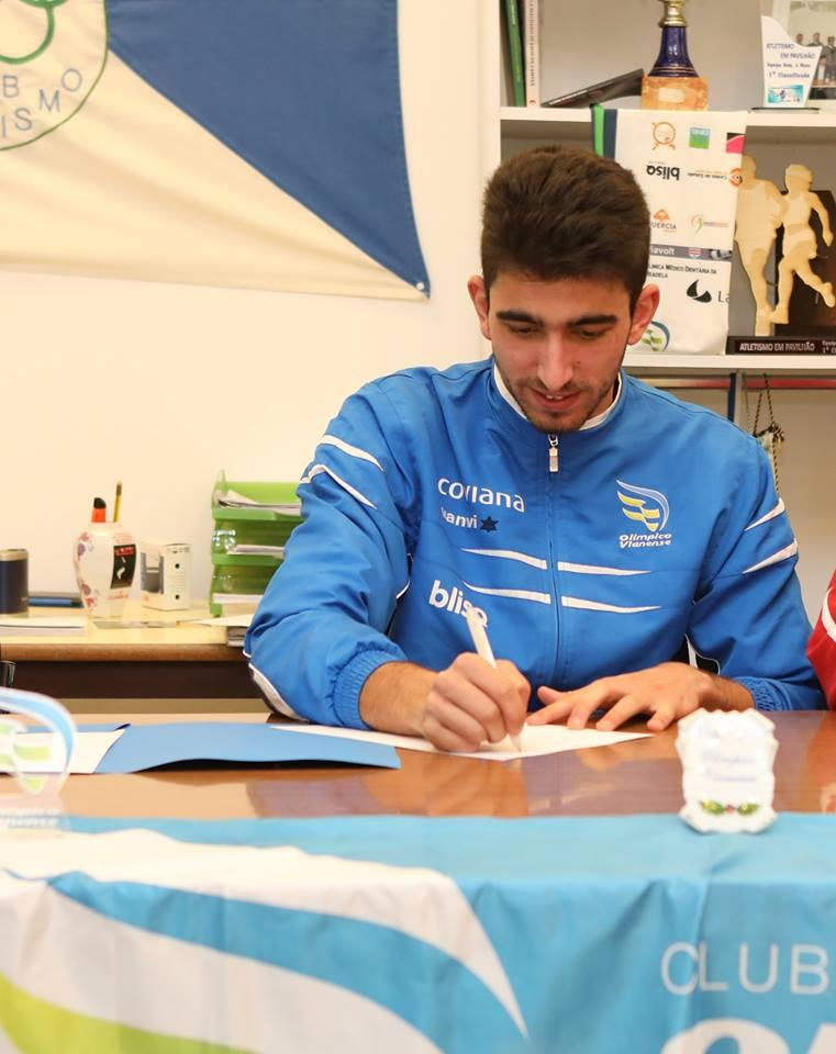 Atletismo: Marcos Maio do Olímpico Vianense é Vice-Campeão de Portugal em Salto em Altura