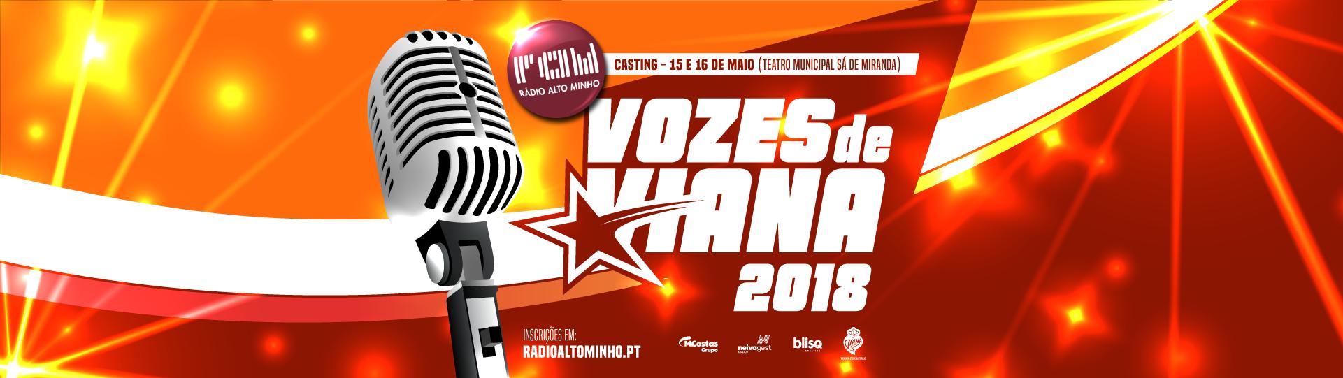 CASTING – VOZES DE VIANA 2018