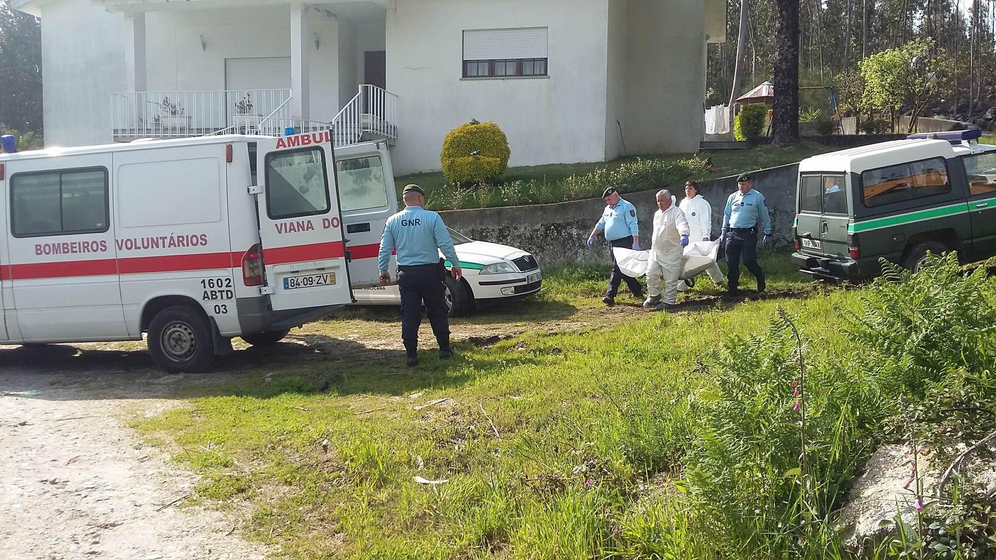 Homem de 80 anos morre carbonizado em queima no lugar de Pisco em Perre