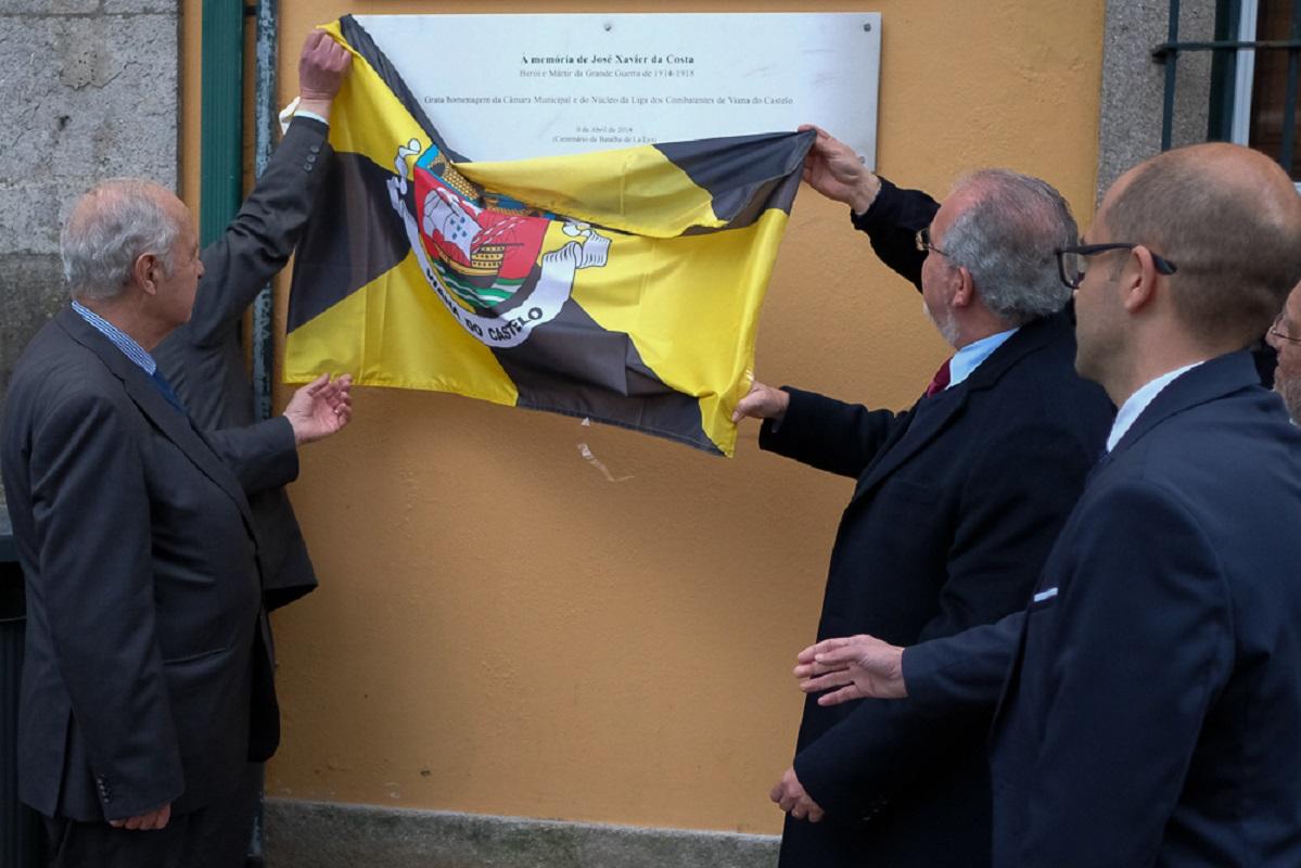 Executivo homenageia herói de Viana do Castelo da I Guerra Mundial