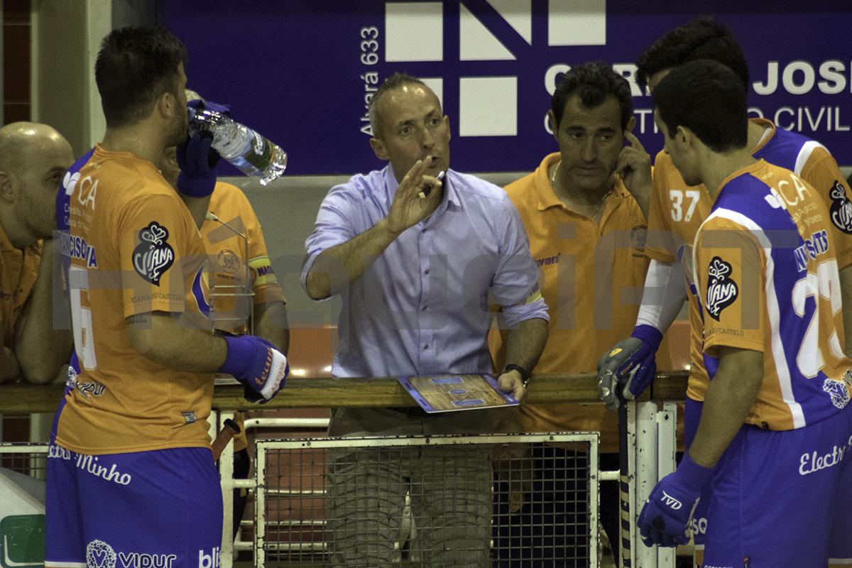Hóquei em Patins: Renato Garrido deixa comando técnico da Juventude de Viana