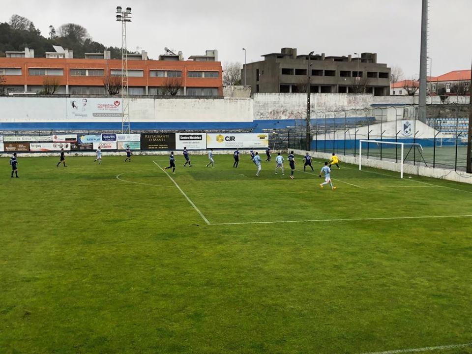 Distrital da 1ª divisão: SC Vianense goleia Távora e Limianos continua líder depois da vitória caseira frente ao Cerveira