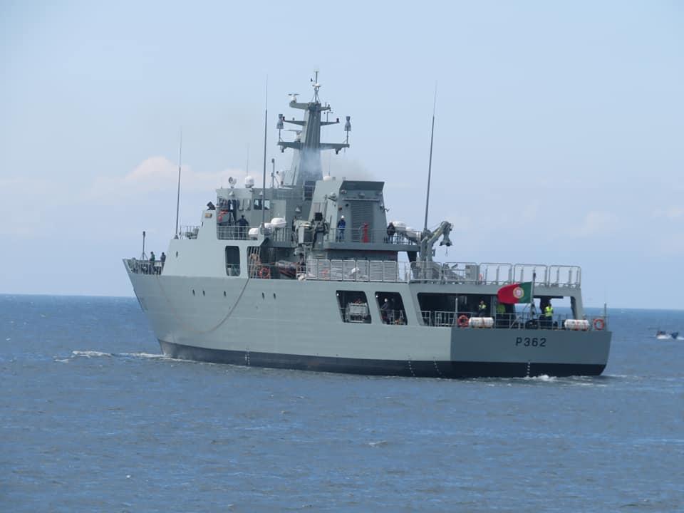 Com Vídeo: NRP Sines concluiu provas de mar com sucesso