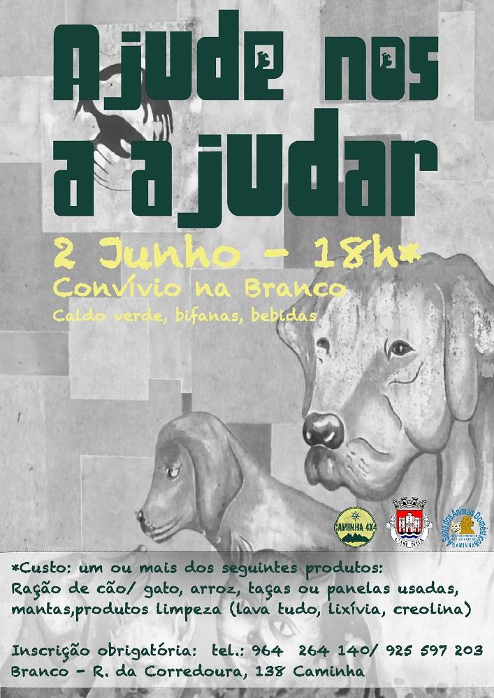 Associação de defesa dos animais faz convívio em Caminha para recolha de géneros alimentares