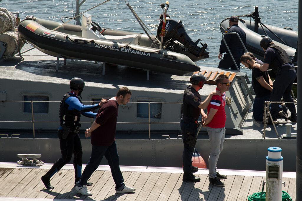 Autoridades marítimas de Portugal e Espanha testam combate a tráfico de droga no rio Minho