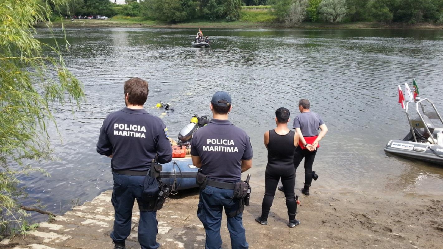 Capitania e Polícia Marítima de Caminha participam em exercício de segurança e salvamento no rio Minho