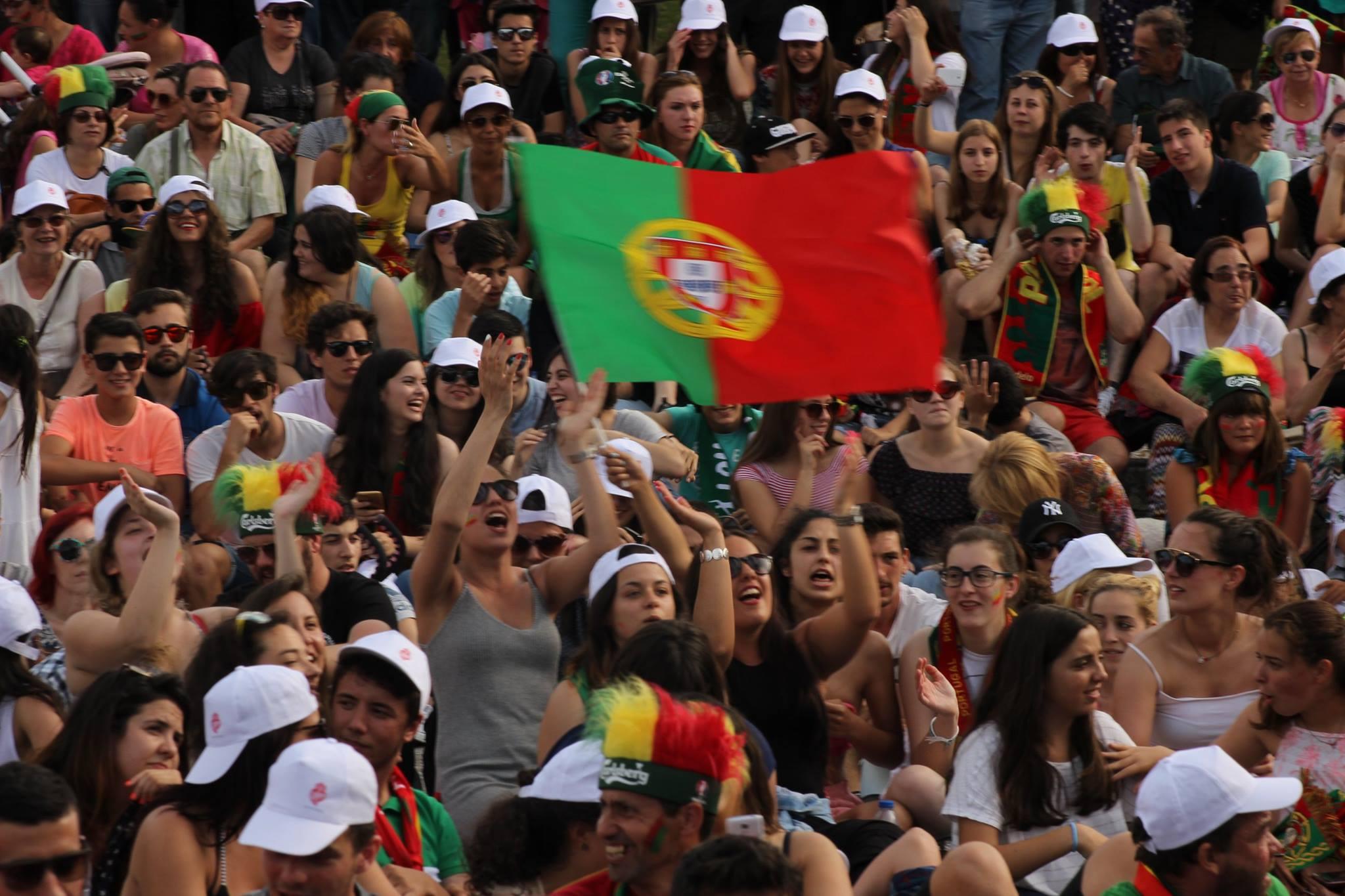 """Jardim da Marina volta a acolher 'estádio"""" para o Mundial de Futebol"""