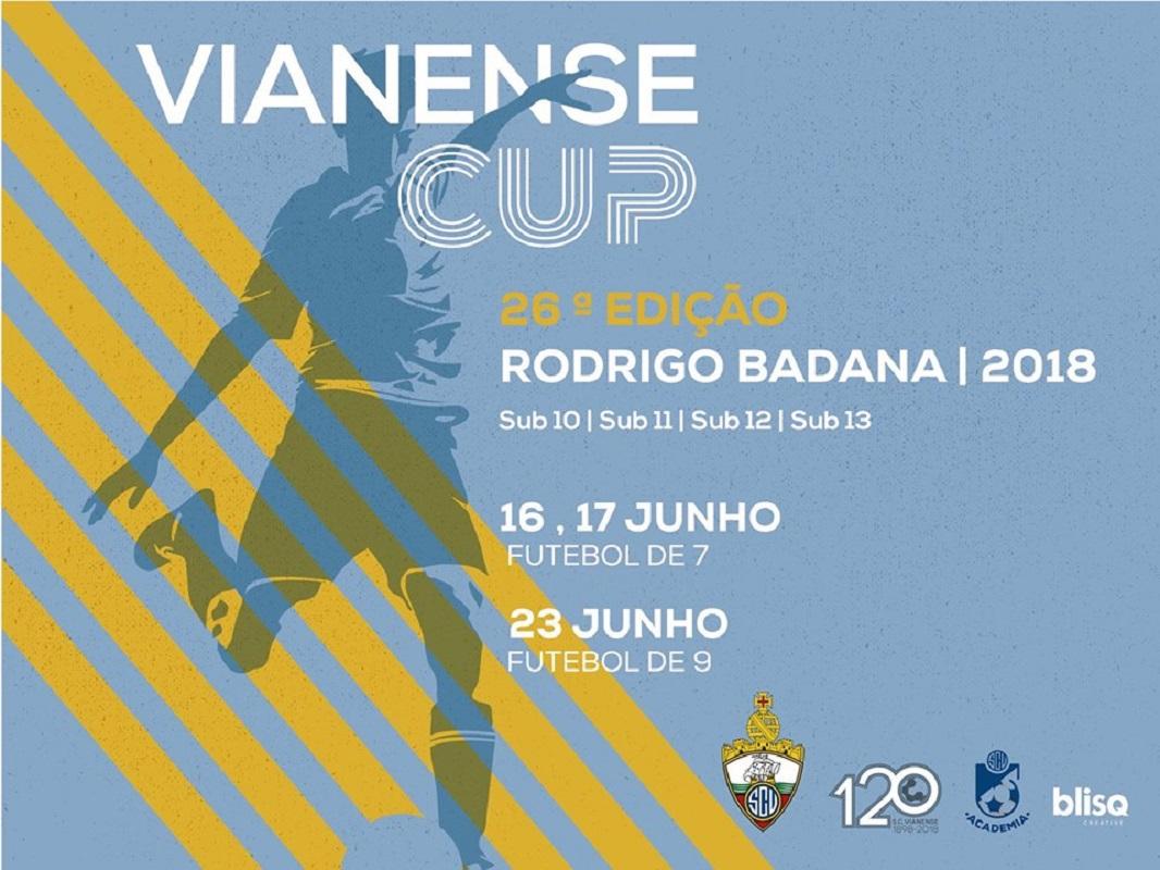 Vianense Cup – Rodrigo Badana com mais de 800 atletas de 40 equipas