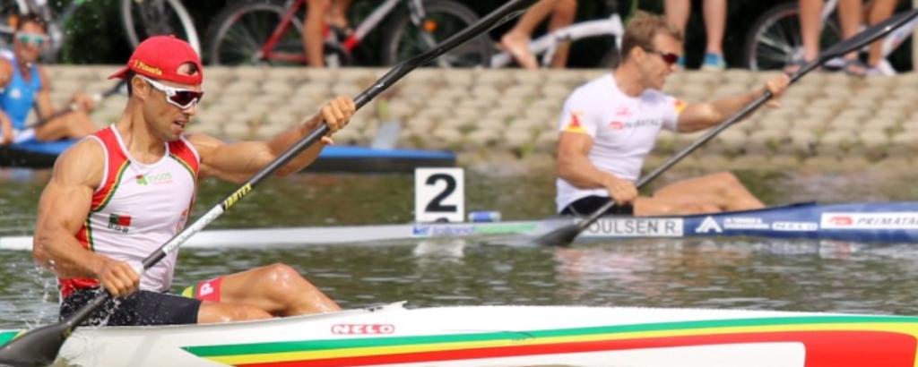 Canoista limiano Fernando Pimenta sagra-se campeão europeu de K1 1000 metros