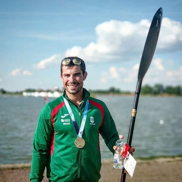 Canoagem: Fernando Pimenta arrecada mais duas medalhas nos Europeus em Belgrado