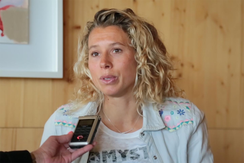 Entrevista: Holandesa Jalou Langeree em Viana para o GKA Kitesurf World
