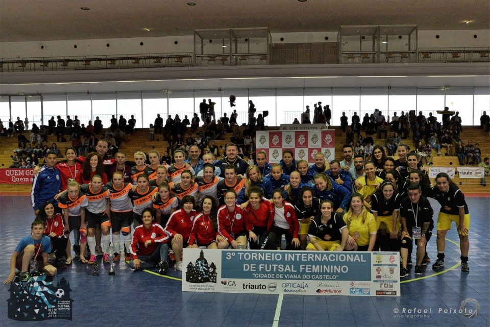 Santa Luzia FC conquista segundo lugar no Torneio Internacional de Futsal Feminino de Viana do Castelo