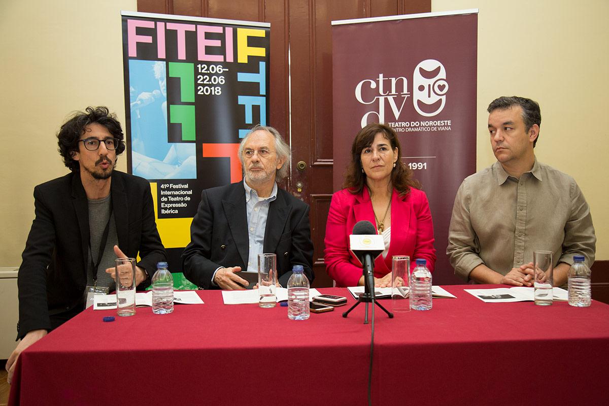 """FITEI apresenta em Viana os espetáculos """"Nada de Mim"""" e """"Mendoza"""""""