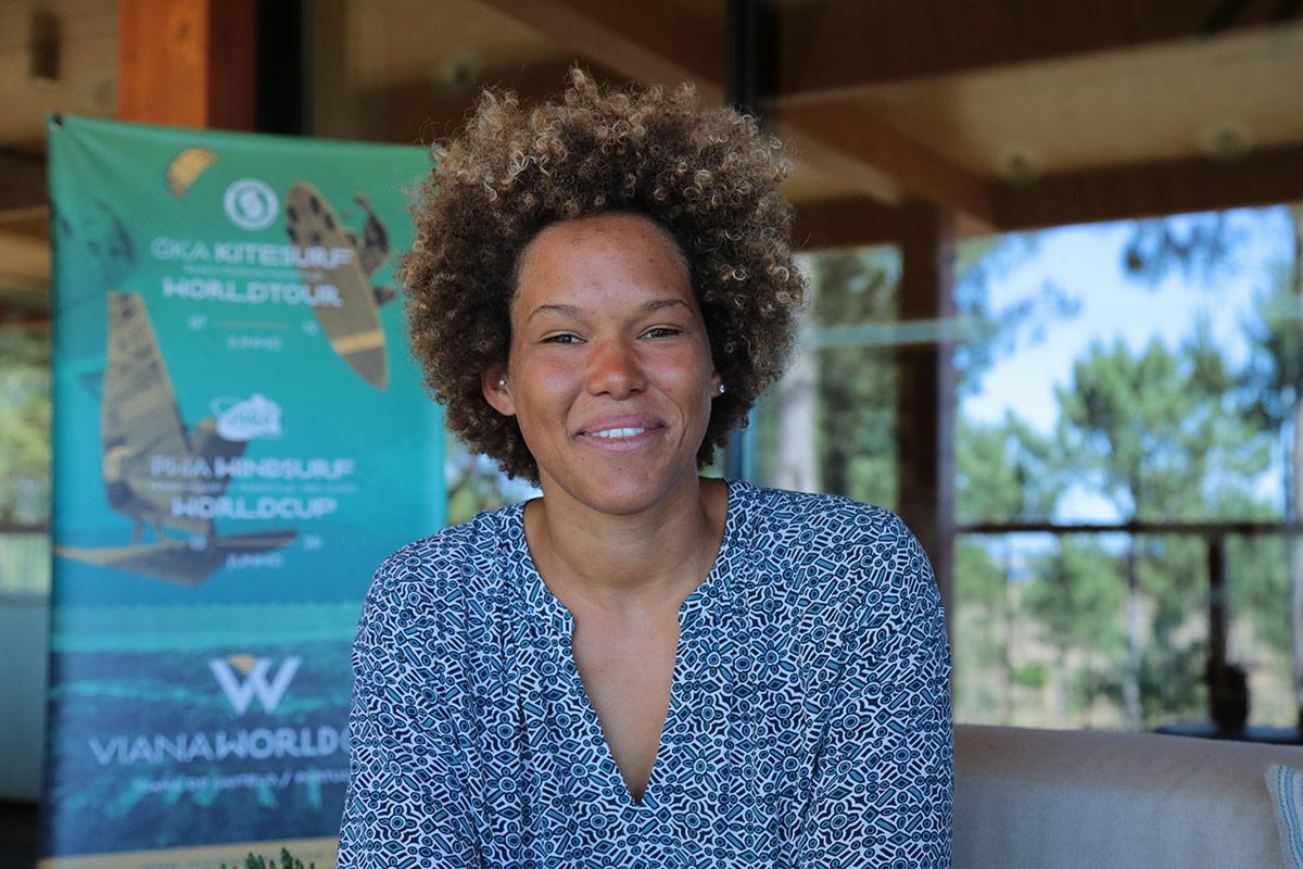 Campeã mundial Sarah-Quita no Cabedelo a disputar Campeonato do Mundo de Windsurf