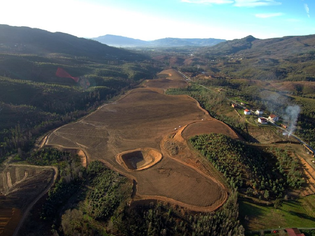 Com Fotos: Aldeia de Cabração com plantação de vinha de 7 milhões de euros em 200 hectares