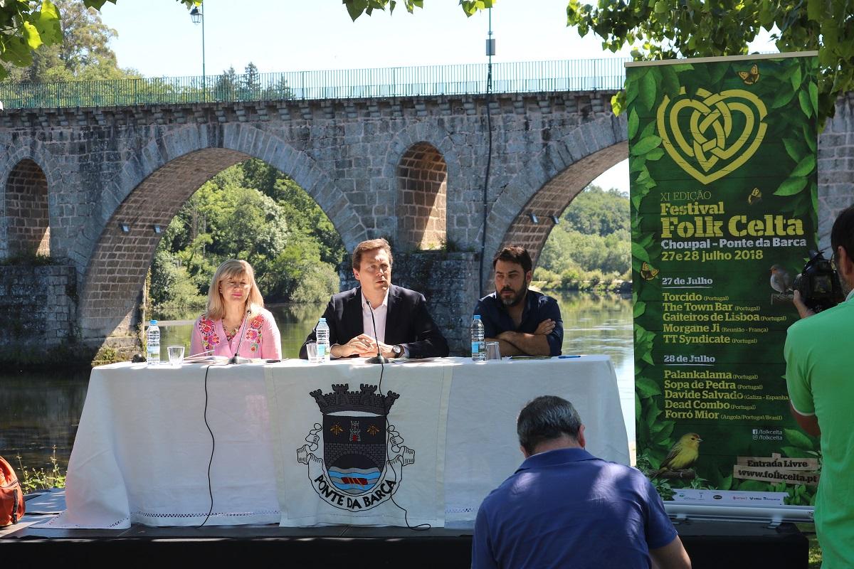 Dead Combo no festival folk Celta de Ponte da Barca
