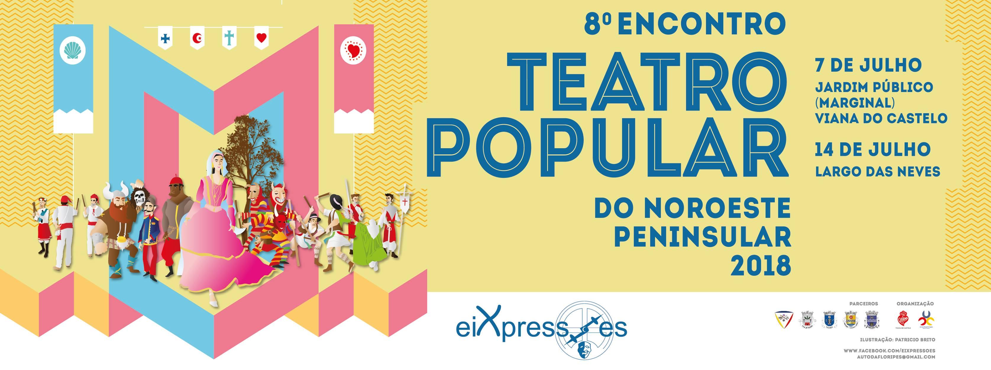 Lugar das Neves recebe sábado a 8ª edição do Eixpressões