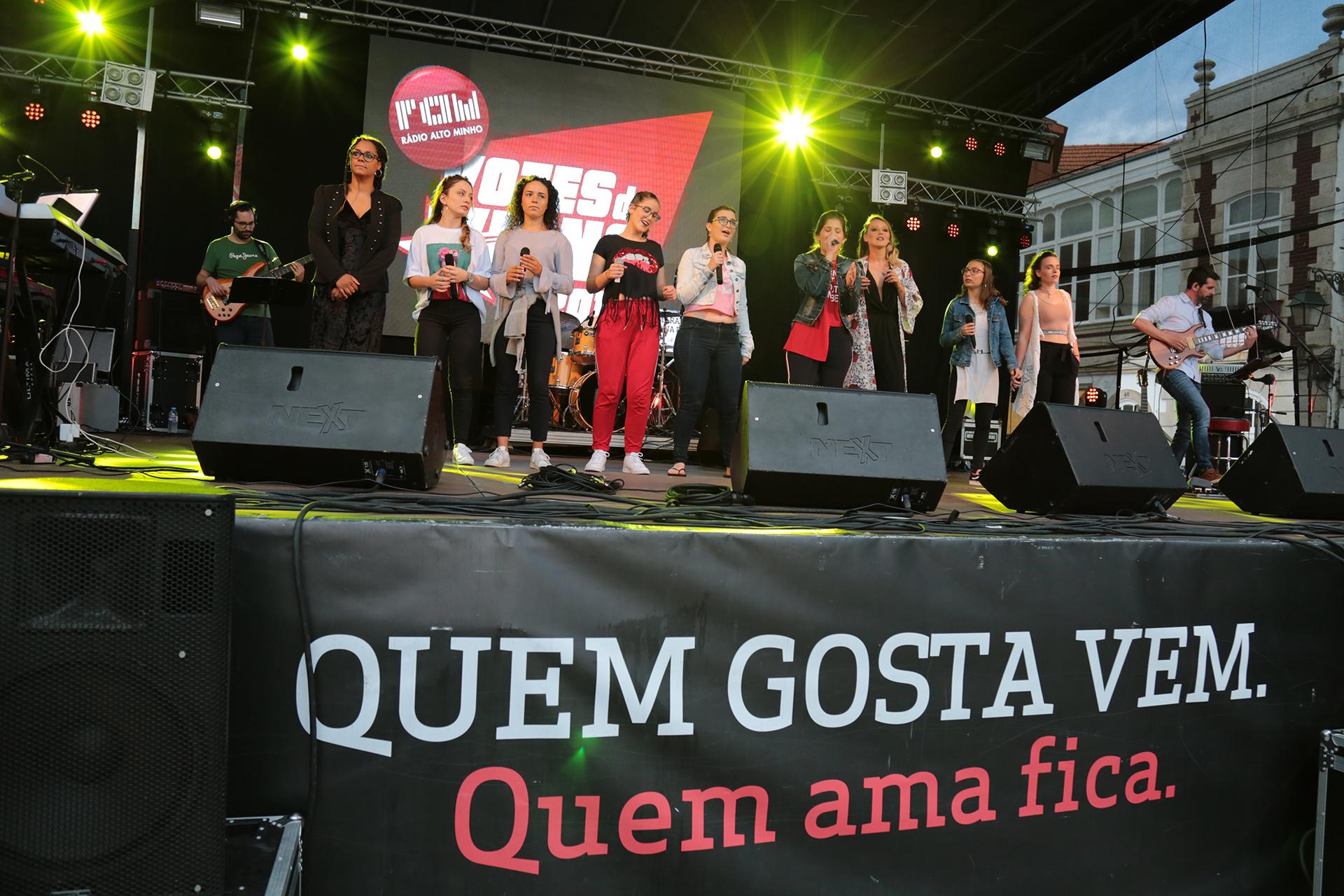 Vozes de Viana animam Feira do Livro esta sexta-feira