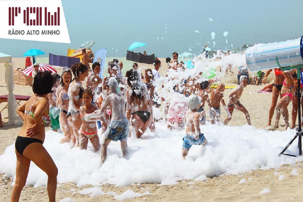 """Tour """"+Verão"""" da Rádio Alto Minho leva este fim de semana muita animação às praias Norte e Fluvial de Cardielos"""