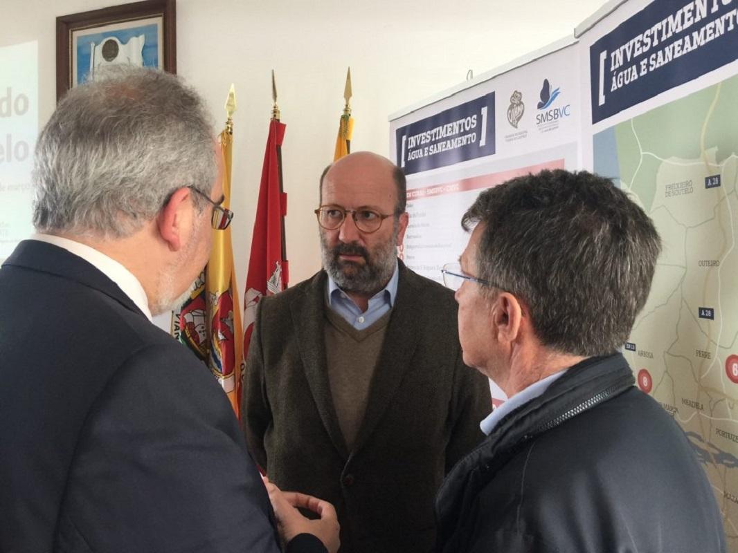 Ministro do Ambiente avisa que Governo vai deixar de financiar sistemas deficitários de água e saneamento