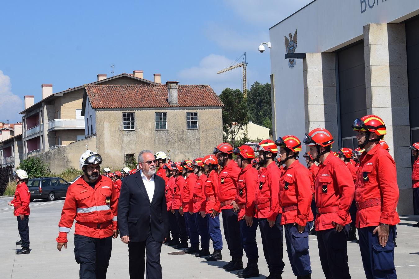 Mais de cem novos bombeiros reforçam as 12 corporações do Alto Minho