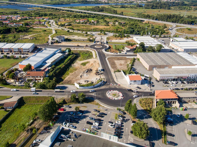 Investimento de 670 mil euros cria novo nó viário em Darque