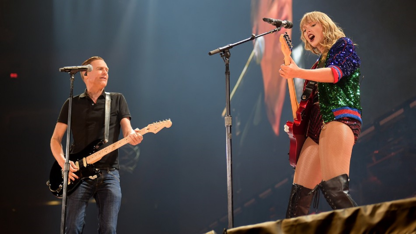 "Taylor Swift canta 'Summer of '69"" com Bryan Adams"