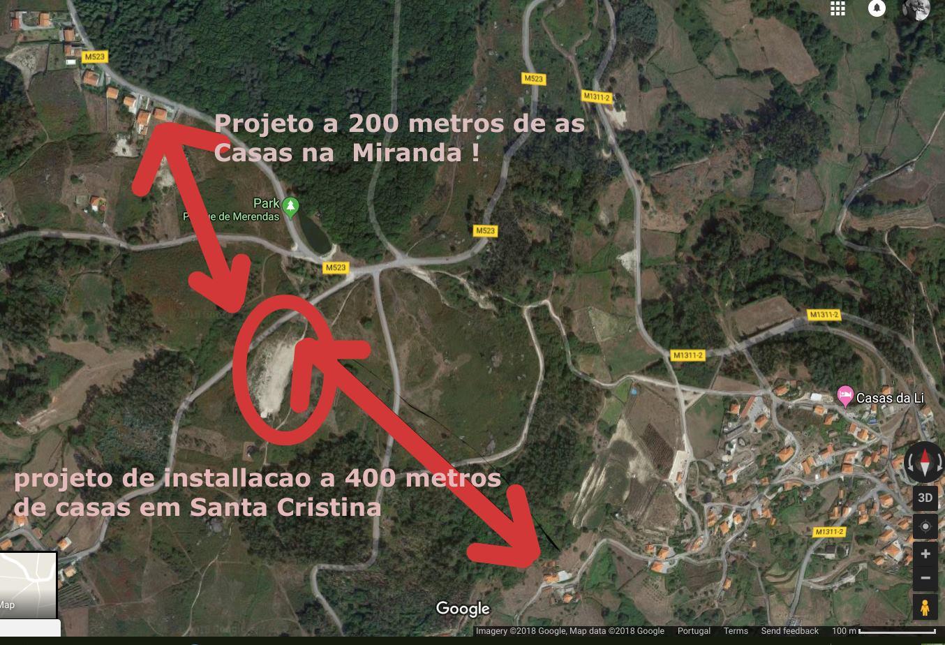 Grupo cívico de Padreiro Santa Cristina não quer aviário na aldeia
