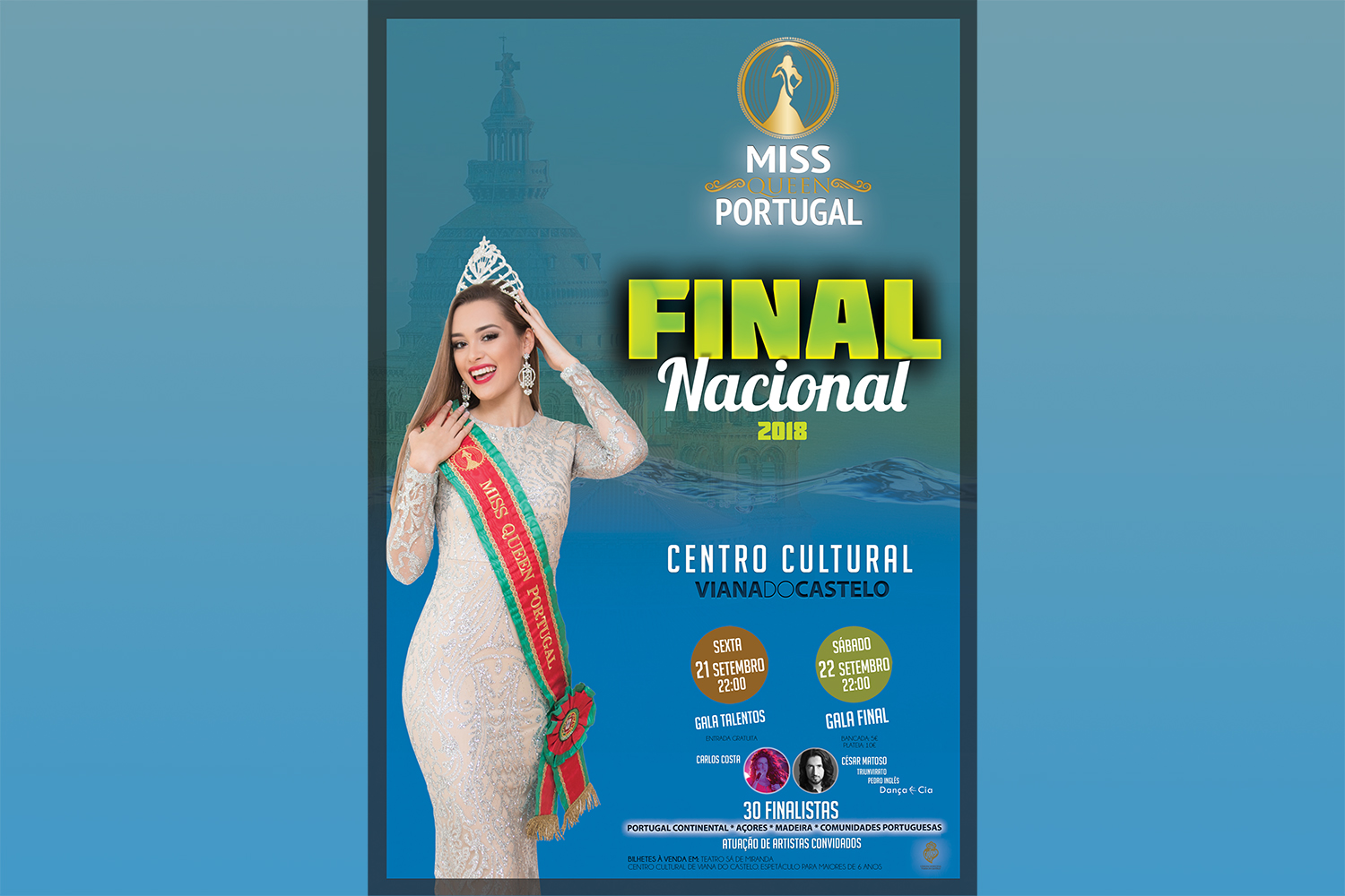 Viana recebe Final Nacional da Miss Queen Portugal