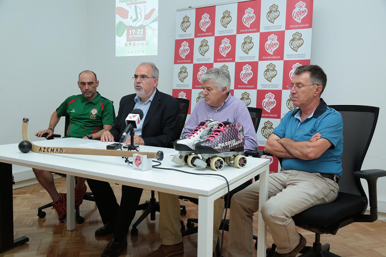 """Equipa das Quinas quer alcançar em Viana """"inédito"""" hexacampeonato da Europa de sub-20 em hóquei"""
