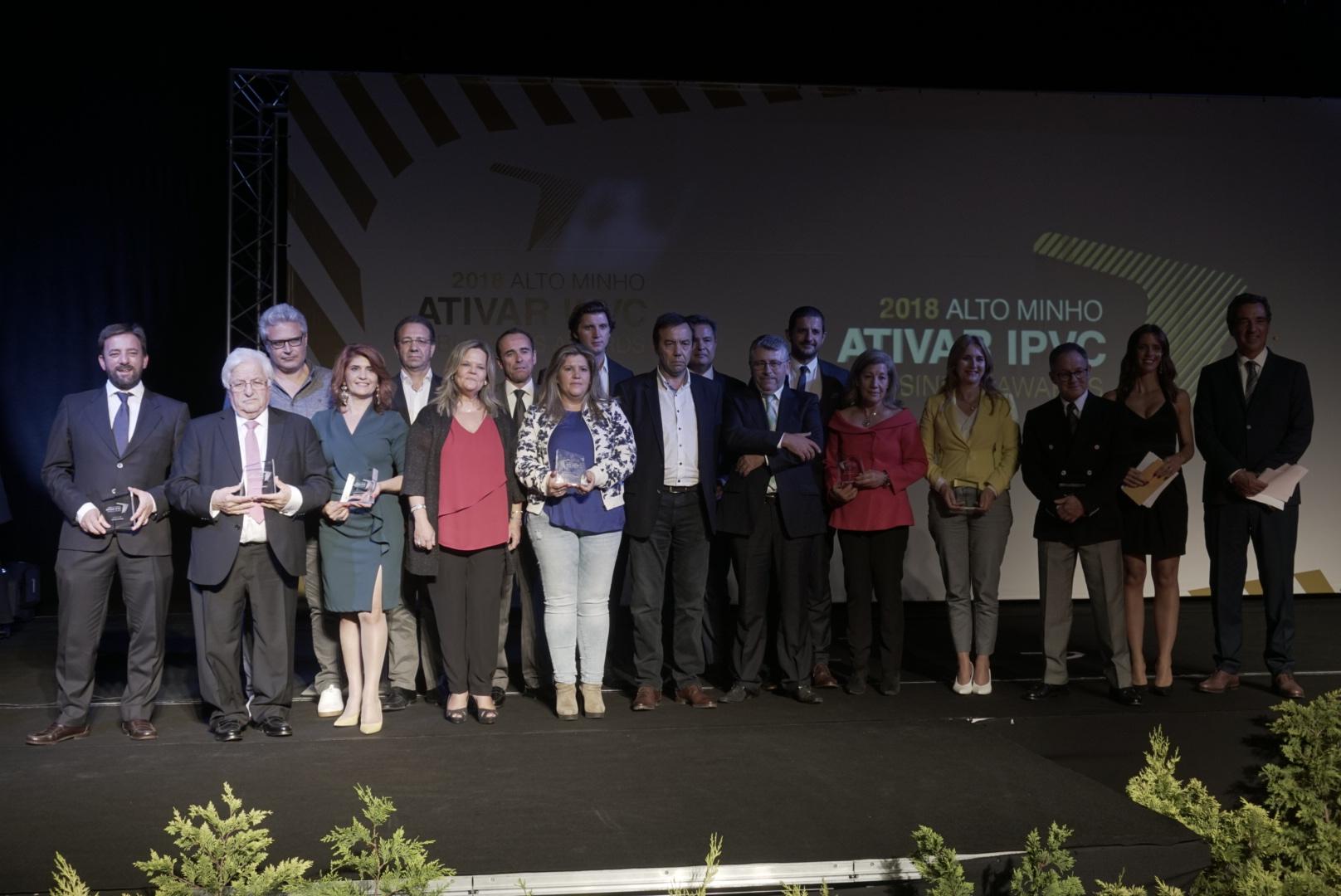 Minho Fumeiro e Sanitop entre as distinguidas na Gala Alto Minho ATIVAR IPVC Business Awards