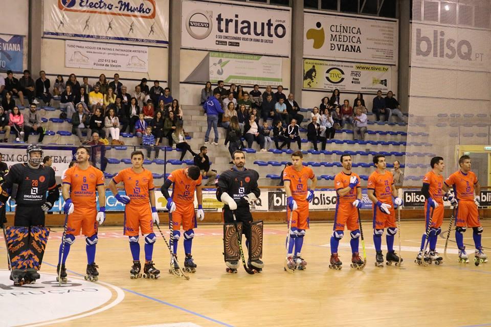 Hóquei em Patins: Juventude de Viana inicia campeonato com derrota frente à Oliveirense