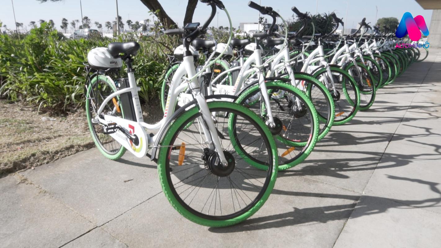 """Video: Bicicleta que vai """"Birar"""" mentalidades já pedala em Viana do Castelo"""