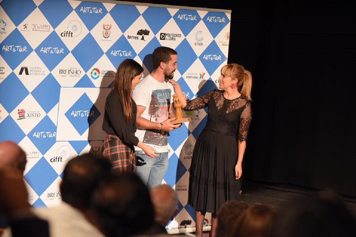 Luís Lagadouro ganha 1º prémio em Arte, Música e Cultura no ART & TUR com filme sobre Bienal de Cerveira