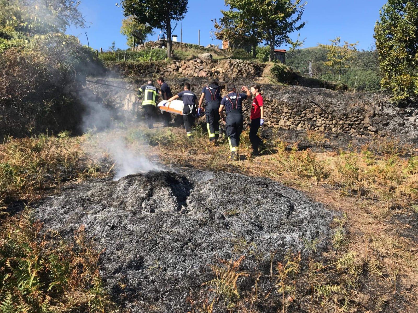 Idosa morre em Arcos de Valdevez quando fazia queimadas em terreno agrícola