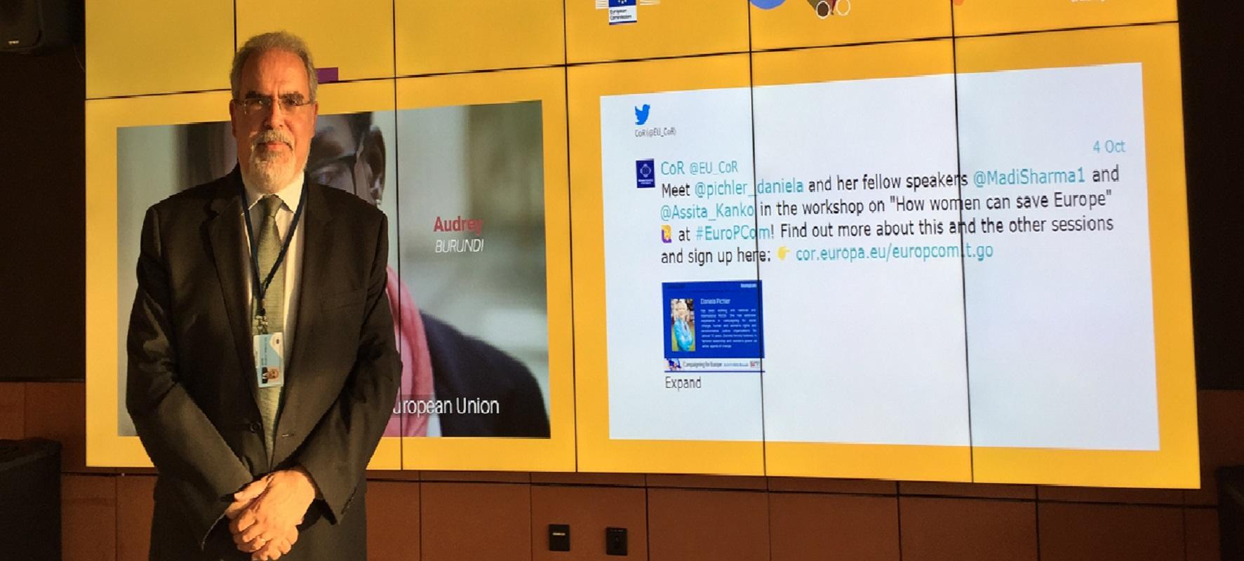 Líder da CIM do Alto Minho defende reforço de verbas para cooperação luso-espanhola