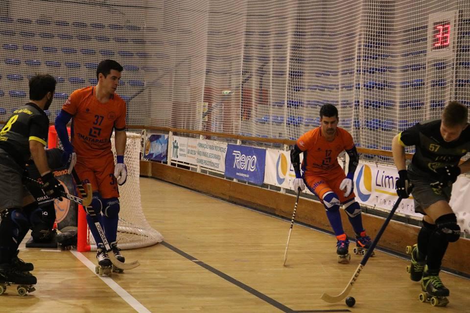 Hóquei em Patins: Juventude de Viana apura-se para os oitavos de final da Taça WS Europe sem disputar o jogo da 2ª mão