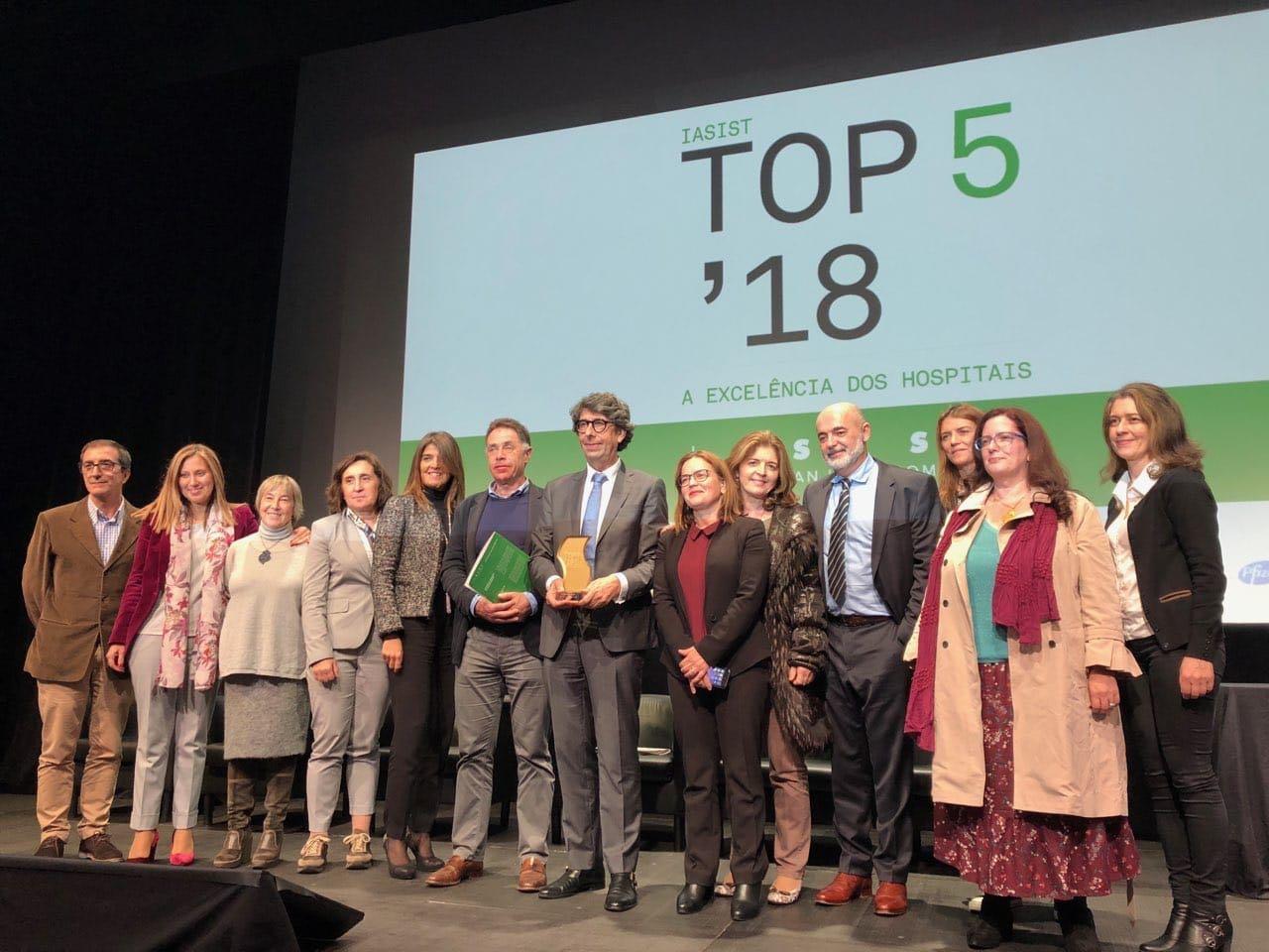 """ULSAM conquista primeiro lugar em prémio """"Top-2018"""": A excelência dos Hospitais"""""""