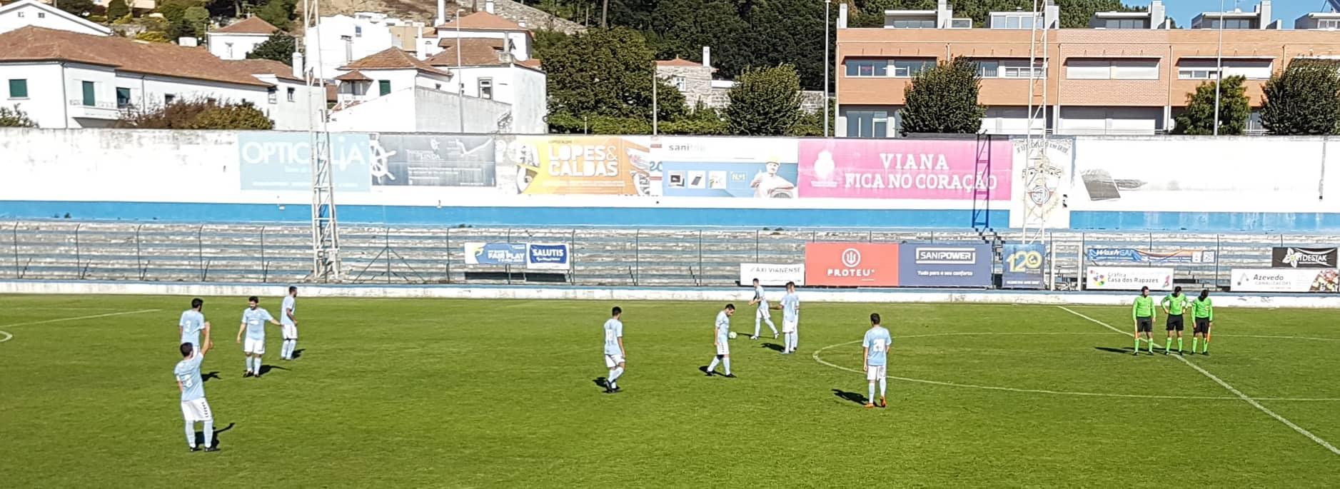 Futebol: Vianense vence Valenciano e é líder isolado da 1ª divisão distrital