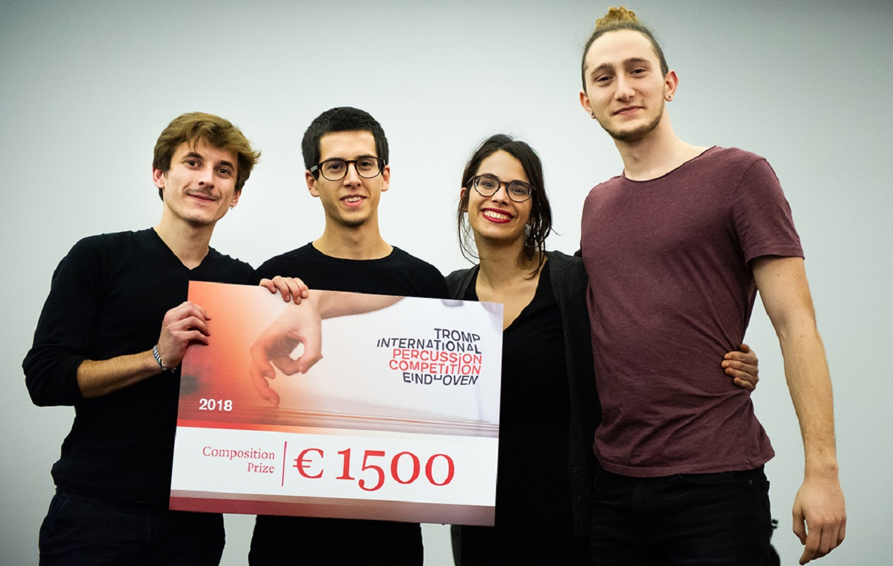 Quarteto de jovem de Vila Nova Anha ganha prémio internacional na Holanda