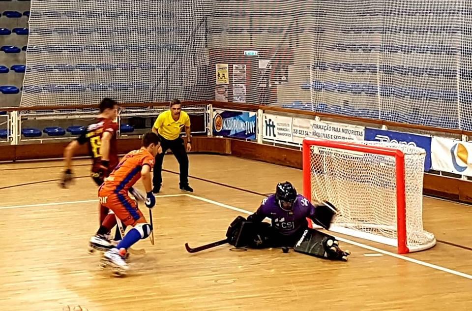 Hoquei em Patins: Juventude de Viana empata com Riba D'Ave e continua sem vencer no campeonato da 1ª divisão