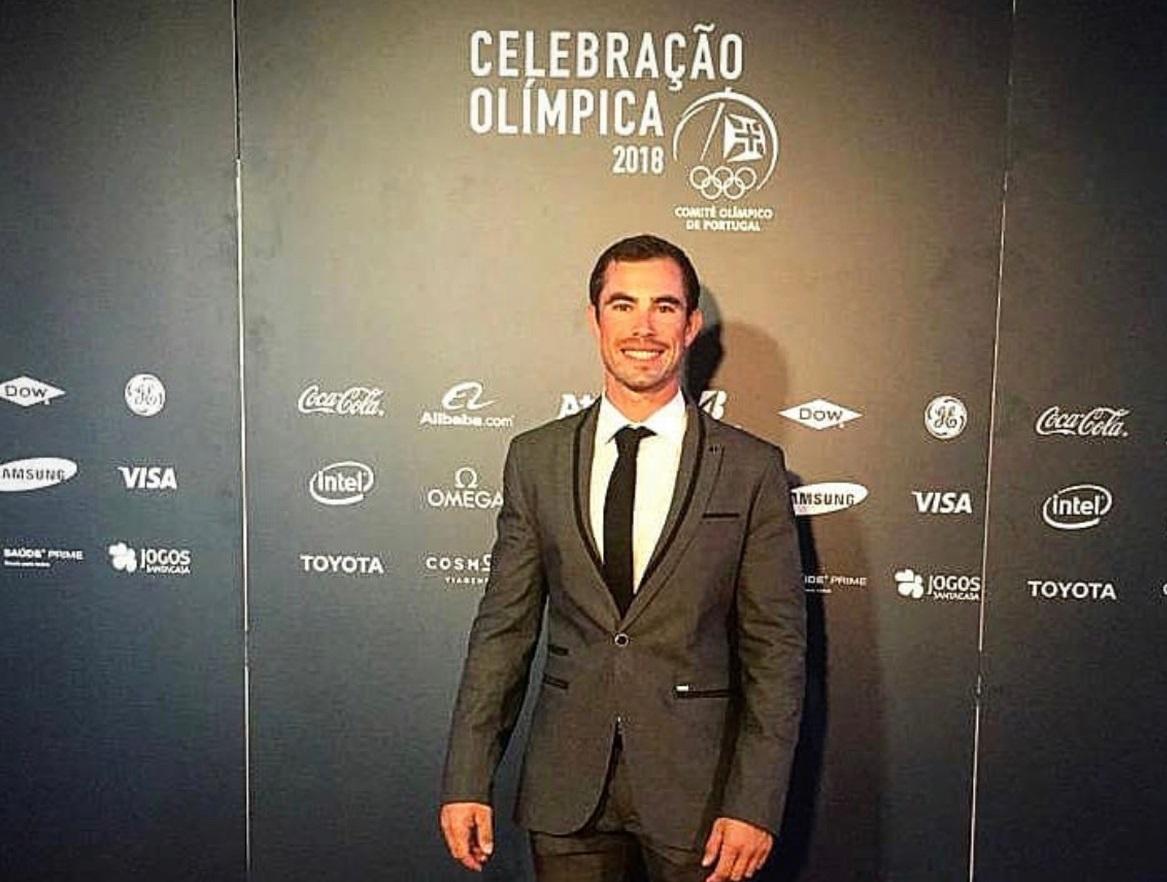 """Pimenta recebe medalha de excelência do Comité Olímpico de Portugal e diz que 2018 """"foi perfeito"""""""