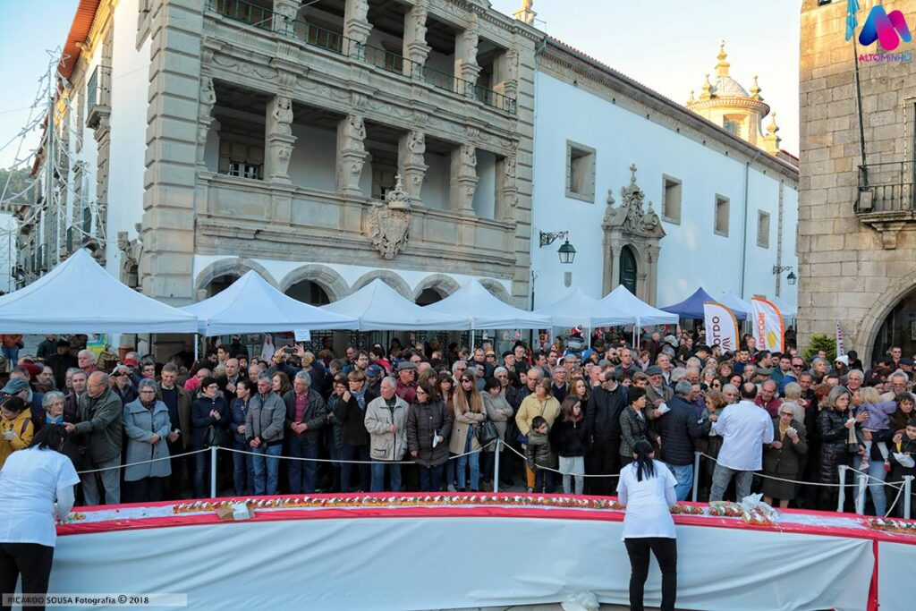 Bolo Rei Gigante de Viana do Castelo 2018